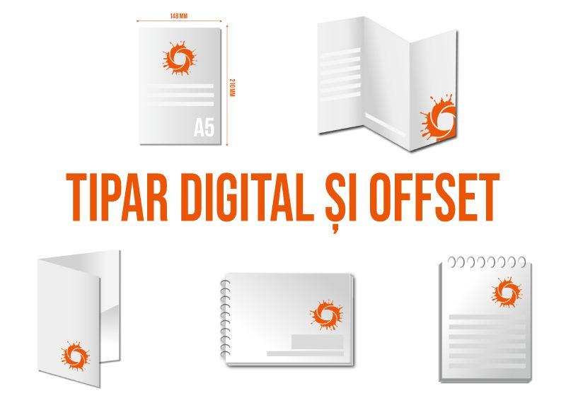 Tipar Digital si Offset